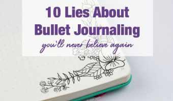 10 Bullet Journaling Mistruths You'll Never Believe Again