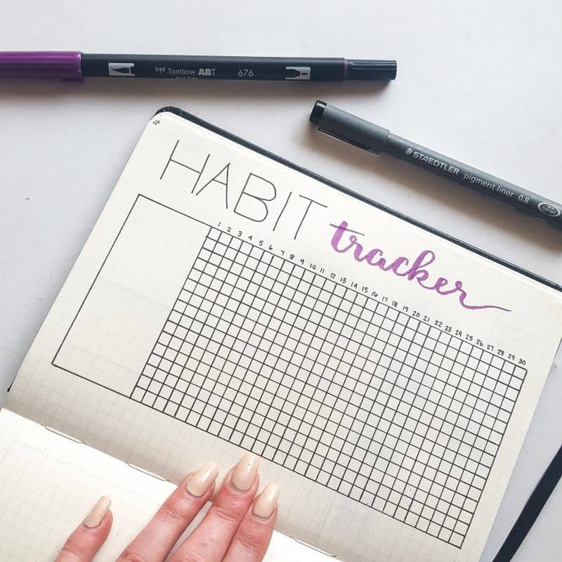 30+ Super Trackers For Your Planner:Daily, Monthly, Yearly| Basic habit tracker | Jihi Elephant for pageflutter.com