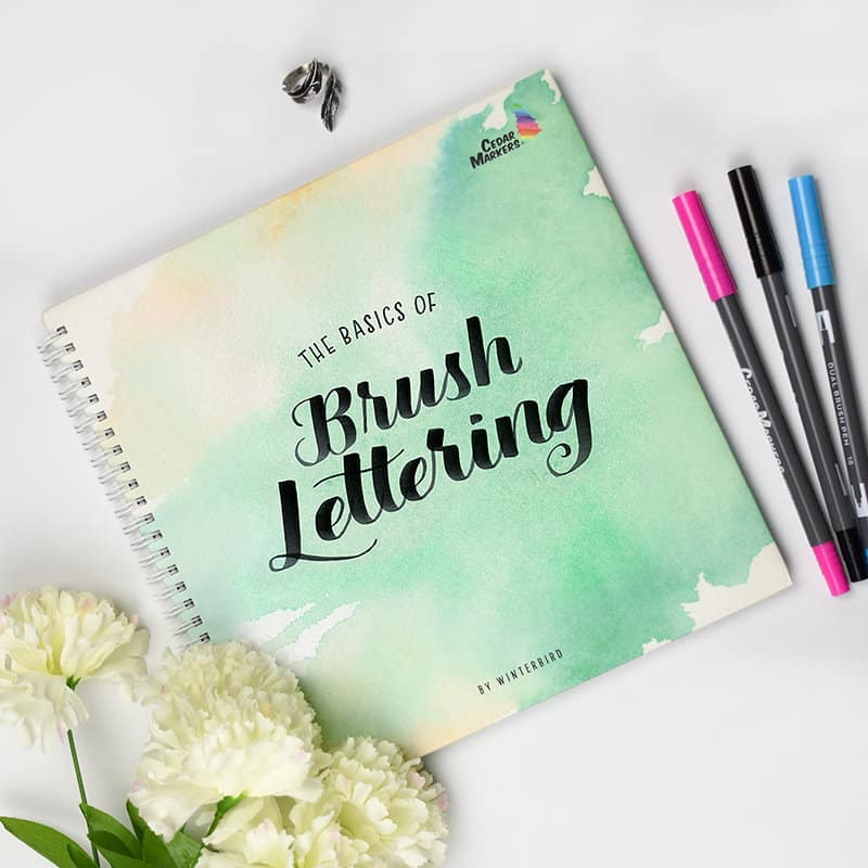 5 must have hand lettering books for beginners page flutter