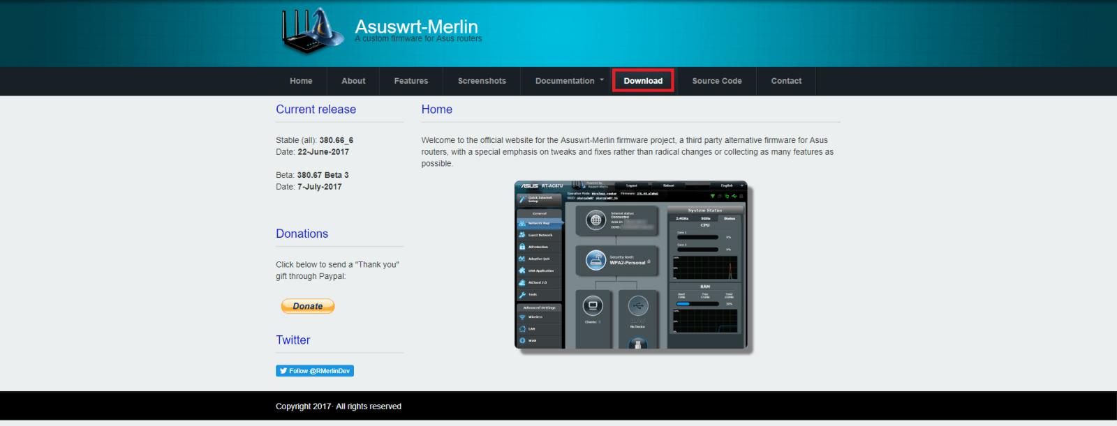 Asus Merlin 1