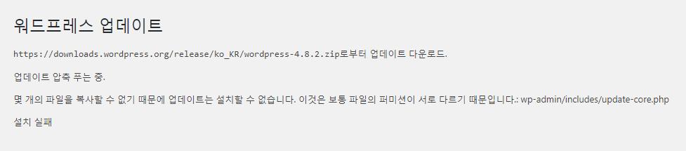 wordpress update permission 1