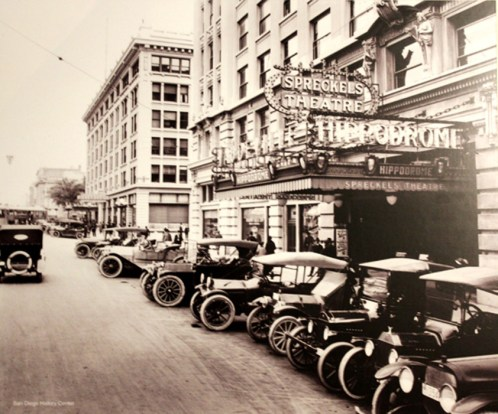 PageLadder Historic Photo San Diego Spreckles Theater