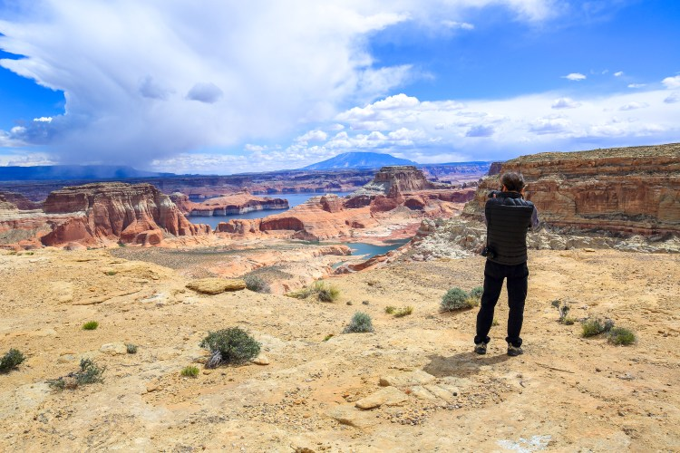 Photographing Alstrom Point and Lake Powell
