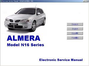 Nissan Almera N16 Series Electronic Service Manual 2000
