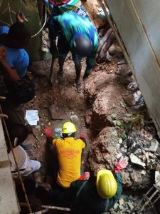 Two children die as building collapses in Lagos State (photos)