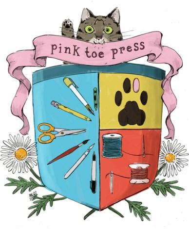 Pink Toe Press Shop