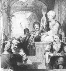 Coffee                                house in the Ottoman Empire