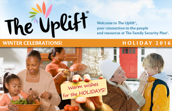 Celebrate the holidays with The Uplift