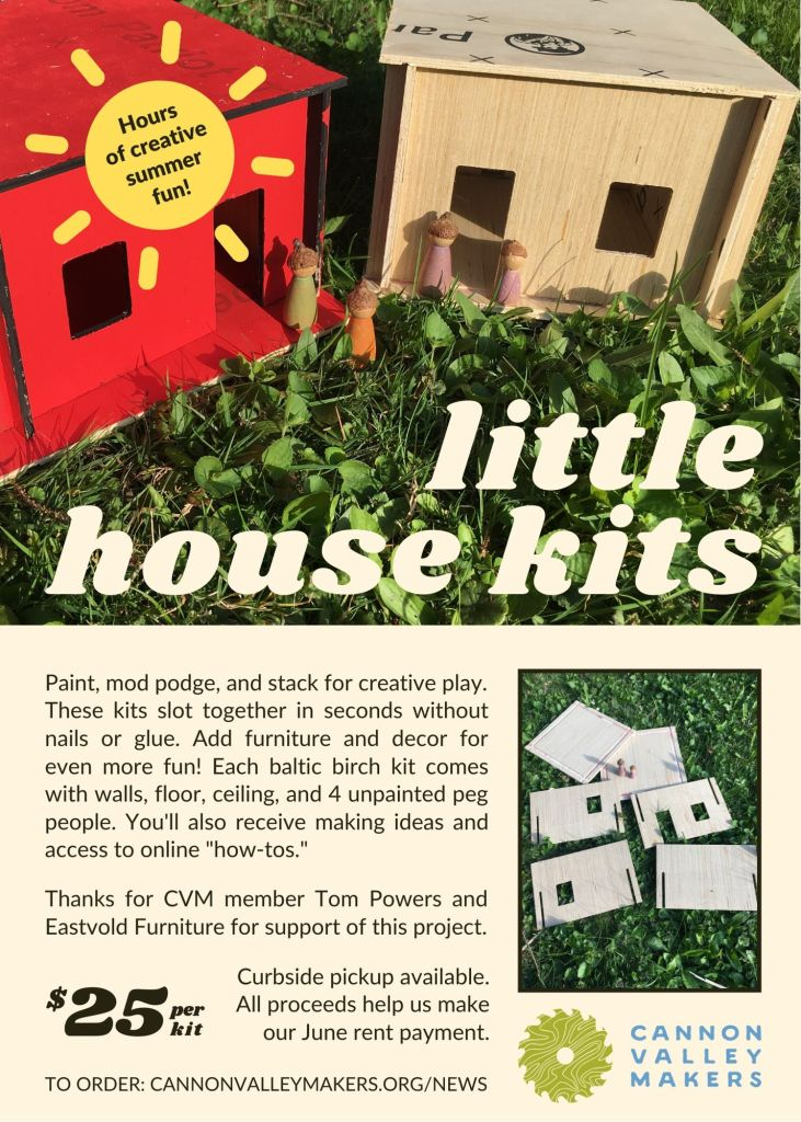 Little House Kits flyer
