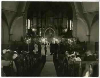 Trinity, wedding, 1943