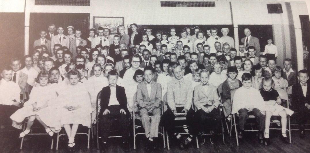 Holden Sunday school class.