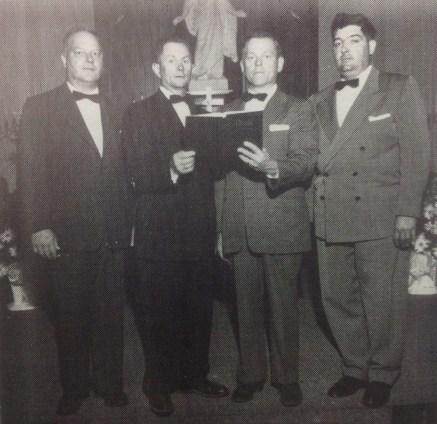 Holden Men's Quartette.