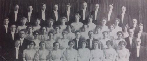 St. Olaf Choir singing at St. John's in 1913.