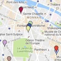 Literary Figures Map