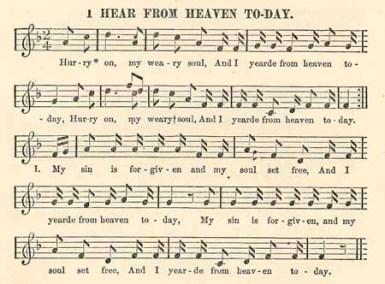 I hear from heaven today