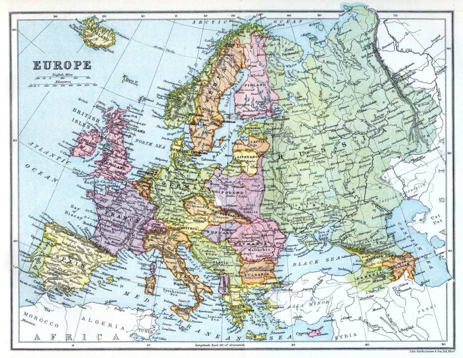 Europe, 1922