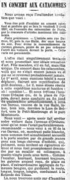 catacombs concert 4:4:1897