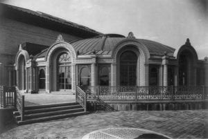 """Century Roof Exterior """"Century Theater,"""" The New York City Chapter of the American Guild of Organists, accessed  October 22, 2015."""