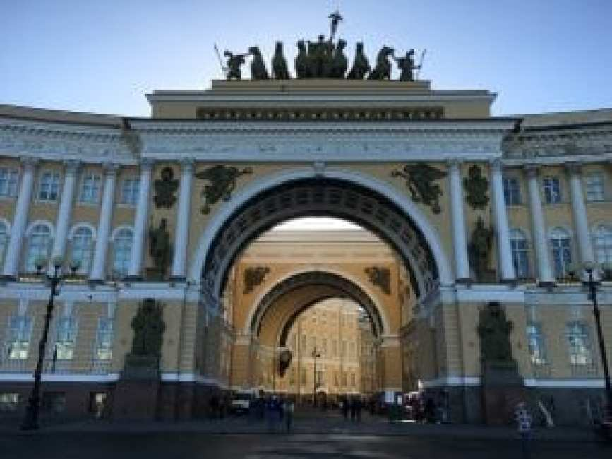 Arches on Palace Square, 2016