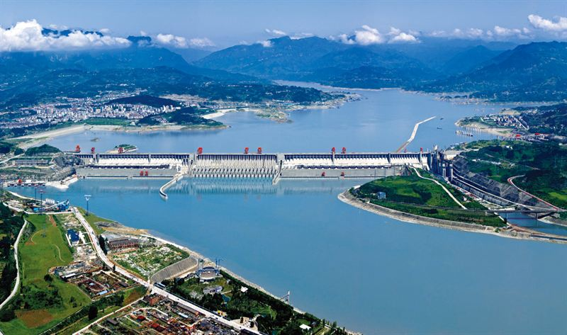Image result for THREE GORGES DAM
