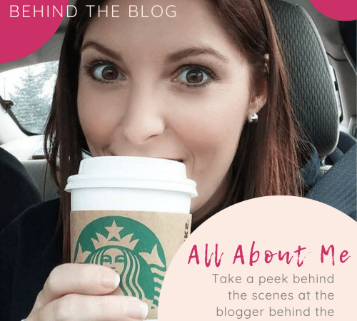 Behind the Blog – All About Me!