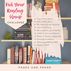 Kick Your Reading Slump Challenge!