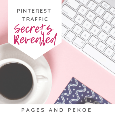 Pinterest Secrets Revealed | Pages and Pekoe