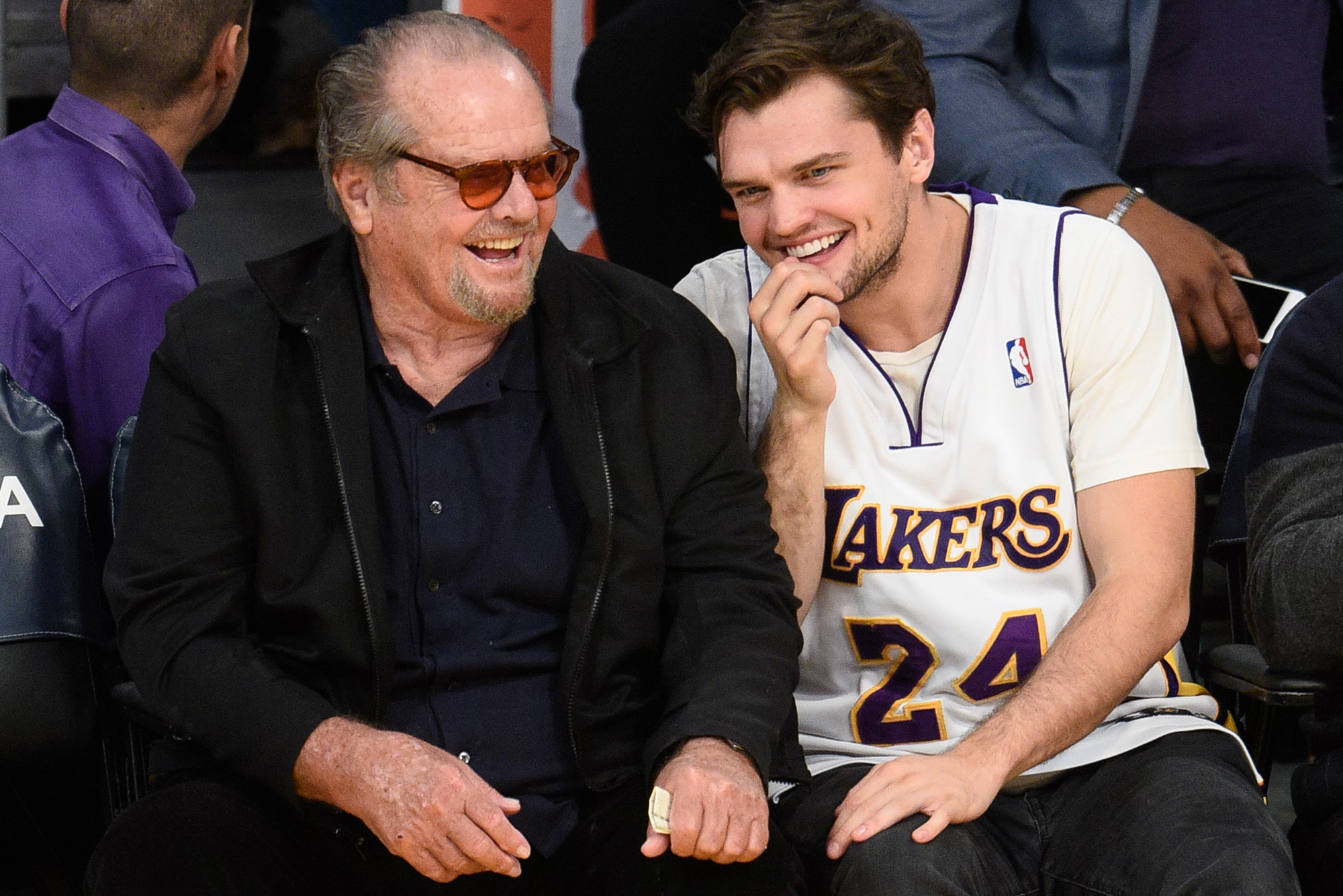 Jack Nicholson And 24 Year Old Son Share Joker Face Page Six Want to know why enjoy watching your wife. jack nicholson and 24 year old son