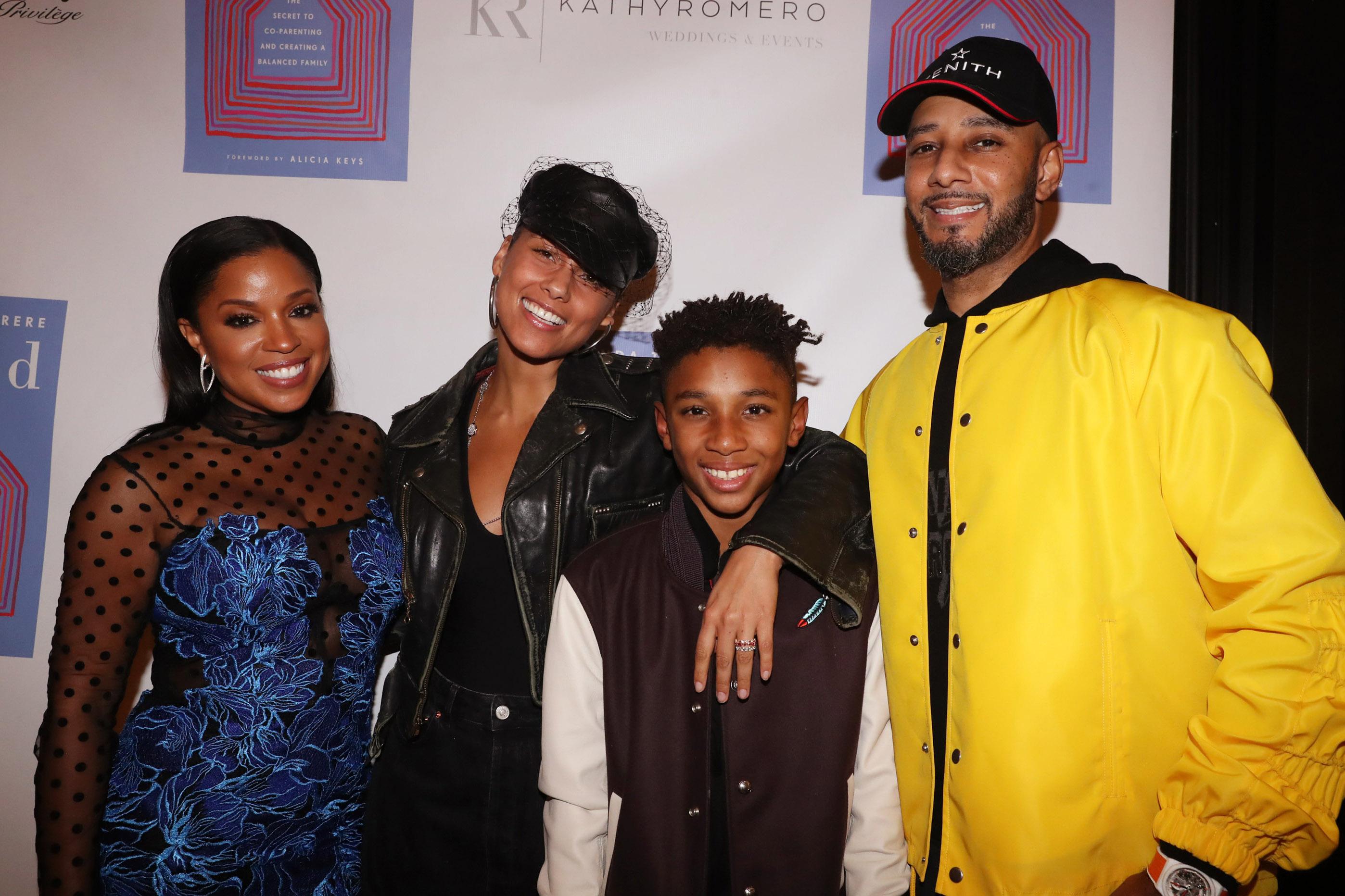 Alicia Keys Swizz Beatz And Mashonda Tifrere Prove Blended Families Can Work