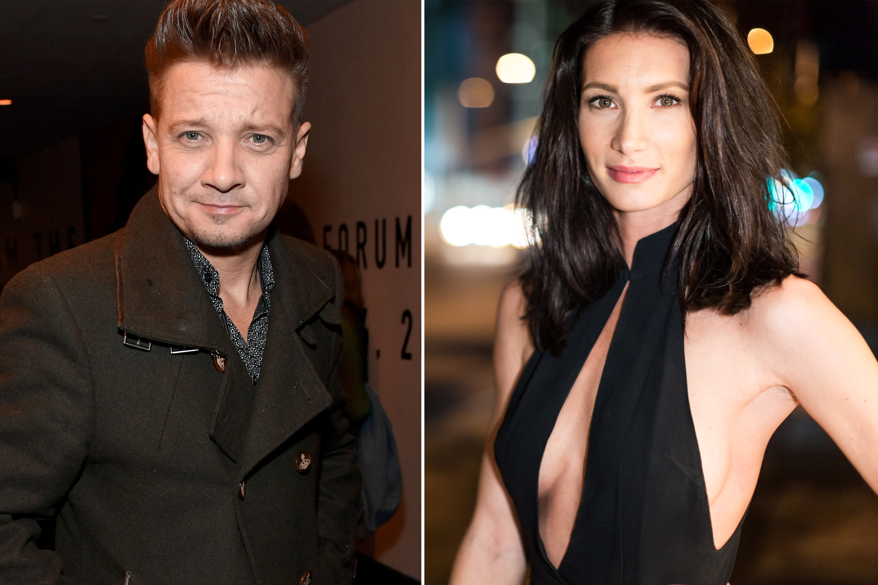 Jeremy Renner claims obsessed ex-wife shared nude photos