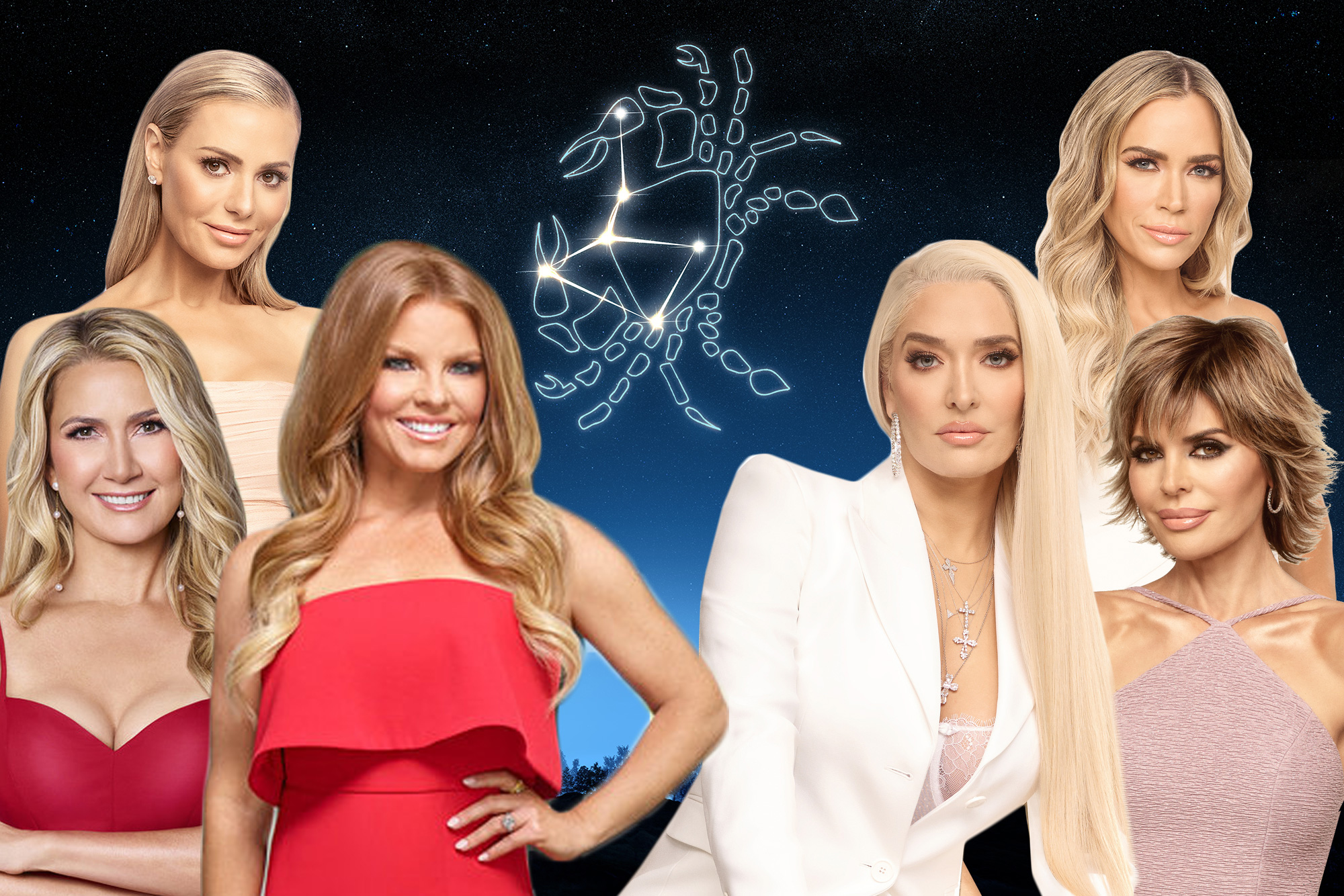 The Leading Astrological Sign Among The Real Housewives Explained