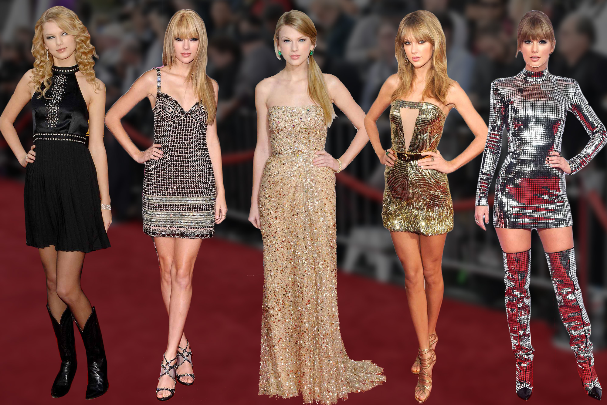 Taylor Swift S Sparkling Amas Style Always Makes A Statement