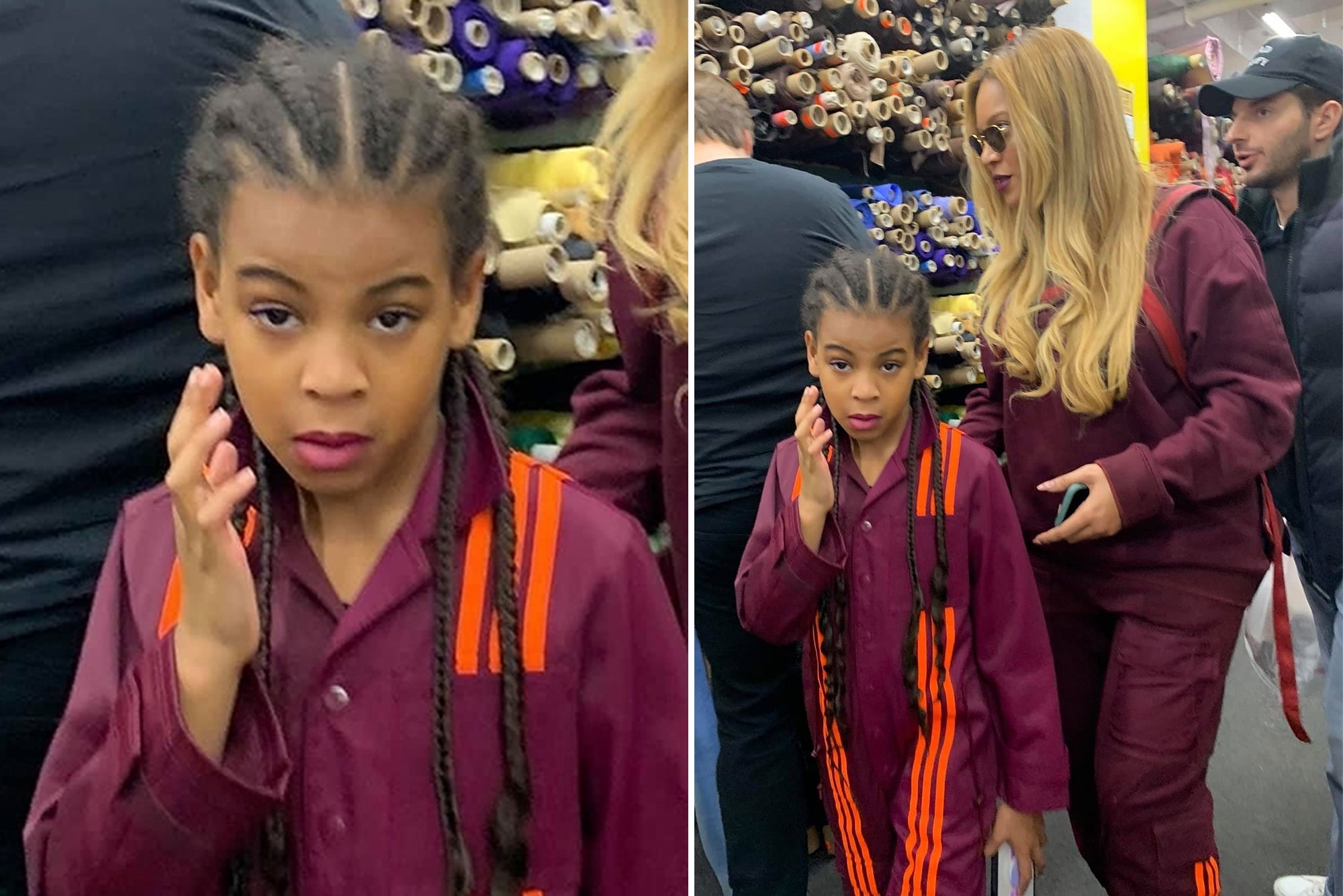 Dictadura confesar cooperar  Beyoncé and Blue Ivy twin in mommy-and-me Adidas x Ivy Park looks