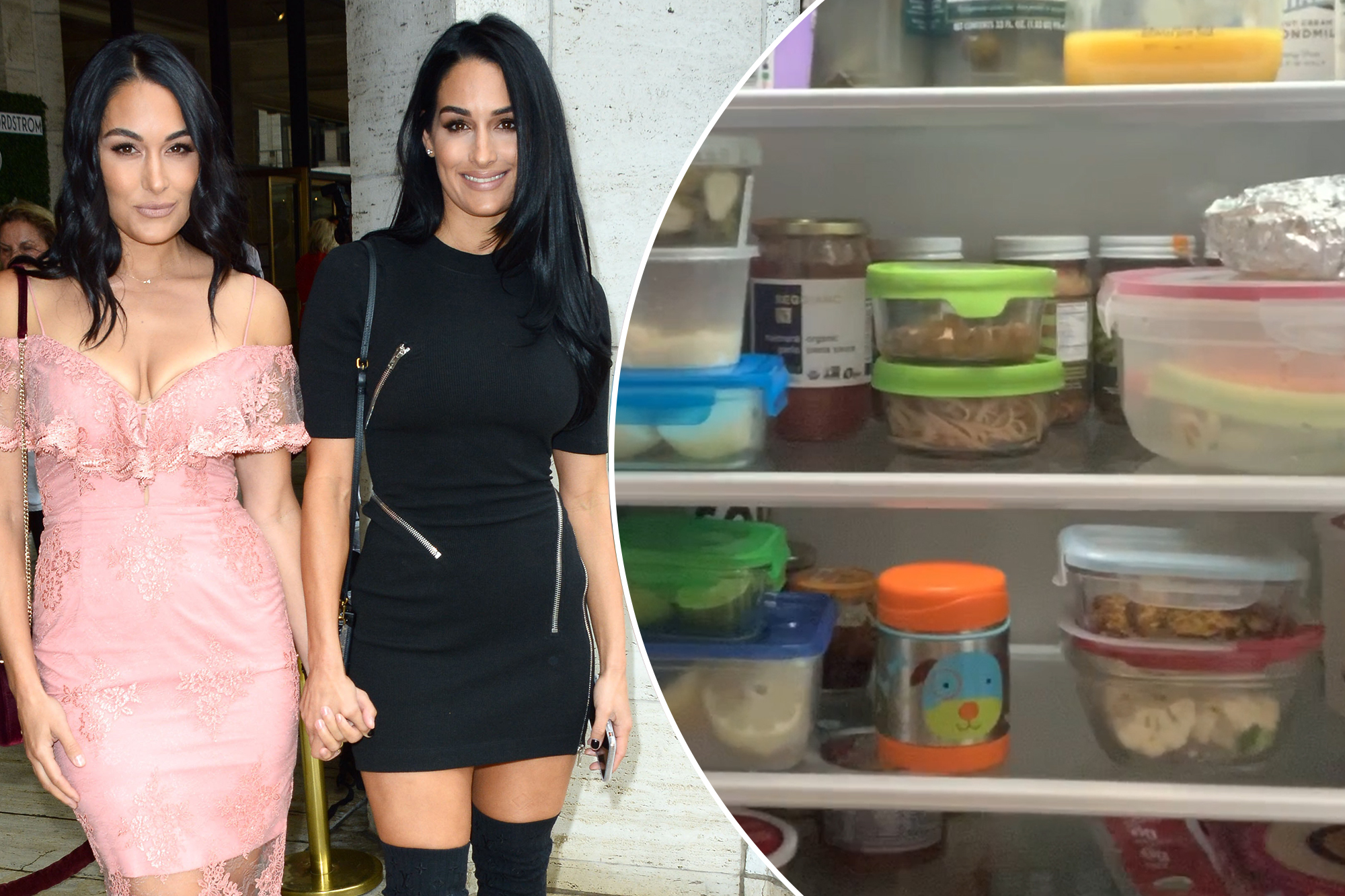 nikki and brie bella share what's cooking inside their