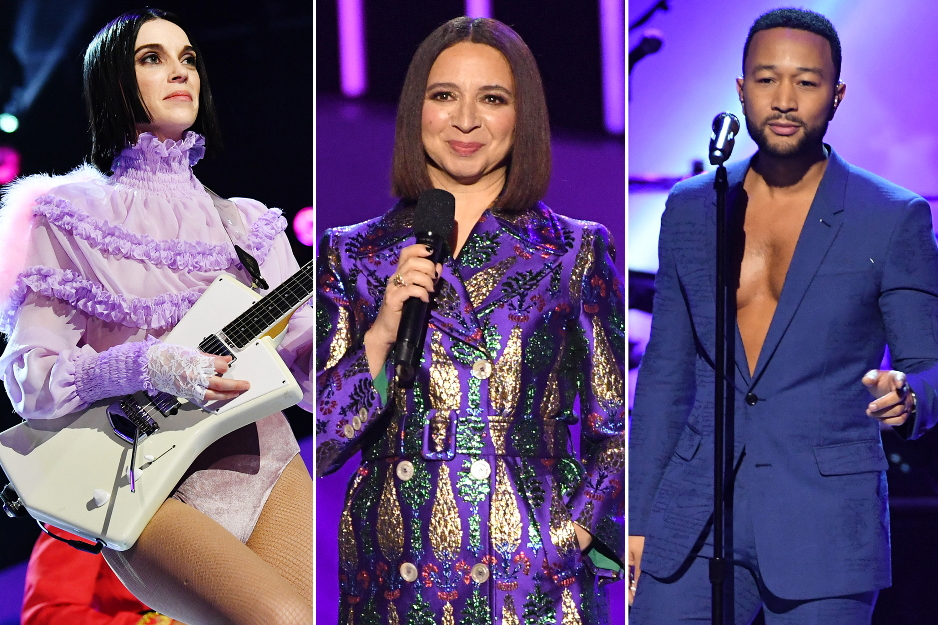the best style moments from the grammy salute to prince the grammy salute to prince