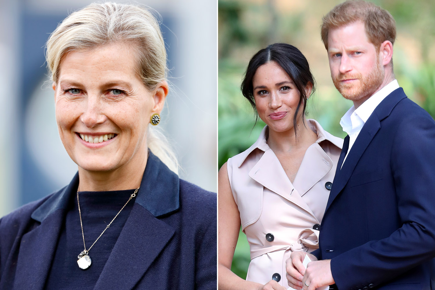 sophie wessex addresses meghan markle prince harry s royal exit sophie wessex addresses meghan markle