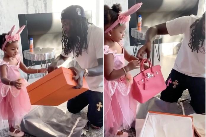 Offset gifts daughter Kulture, 2, a Birkin bag, Cardi B reacts