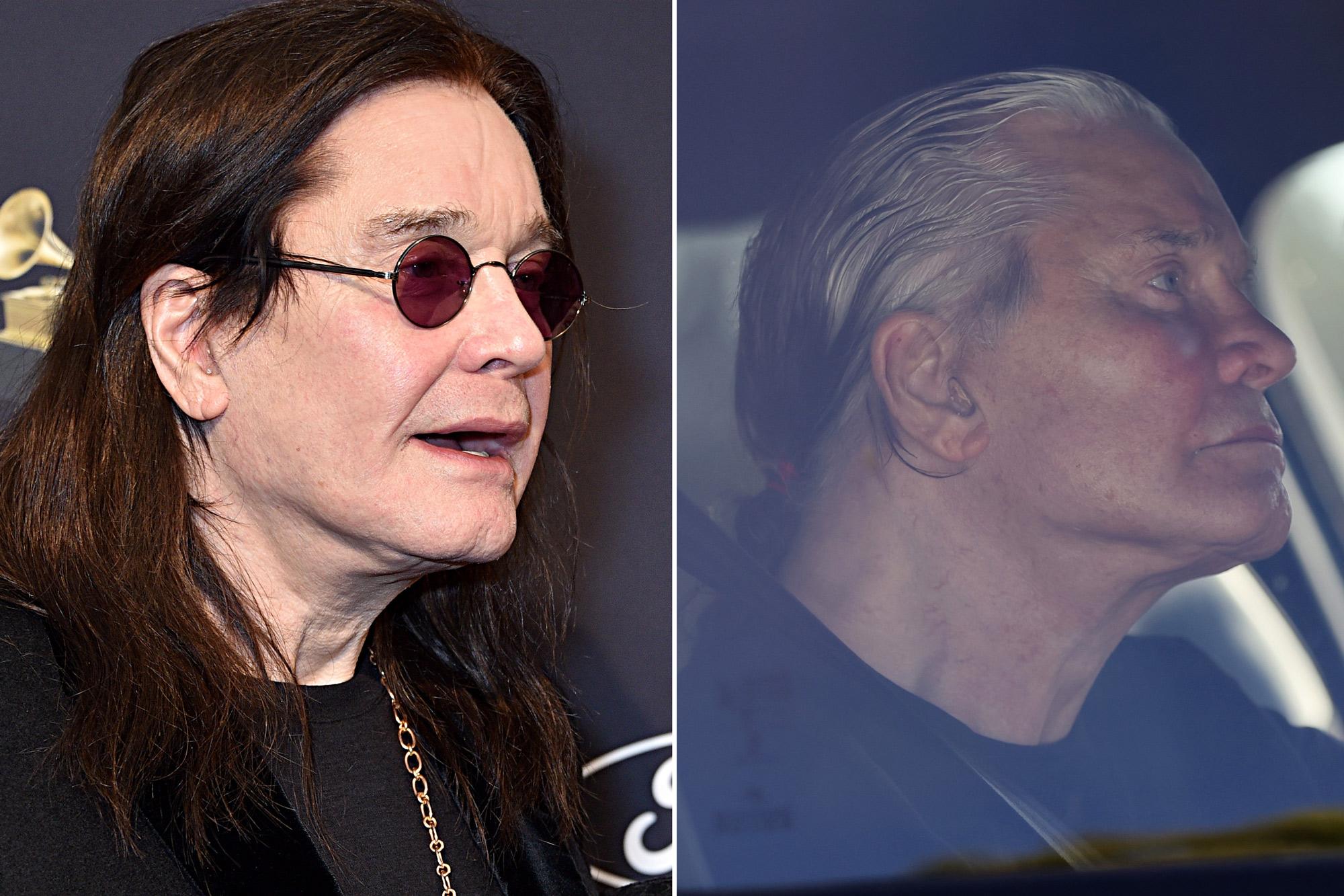 Ozzy Osbourne Lets Hair Go Gray