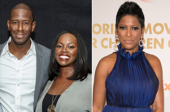 Andrew Gillum's wife brokered first interview with Tamron Hall following controversy