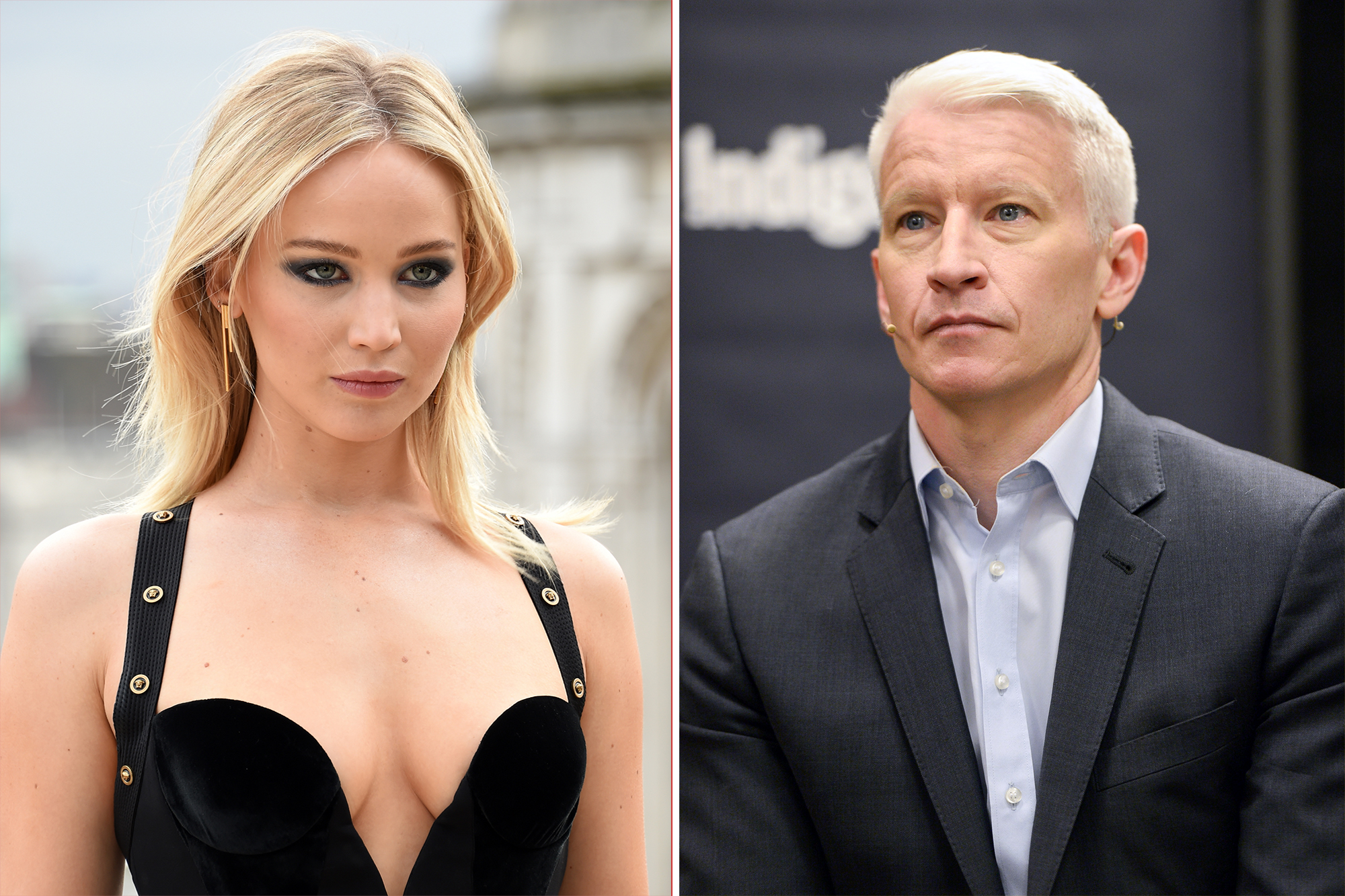 Jennifer Lawrence says she confronted Anderson Cooper over Oscars fall