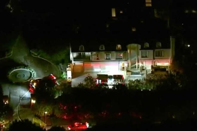 Firefighters respond to reports of smoke at home of Denzel Washington