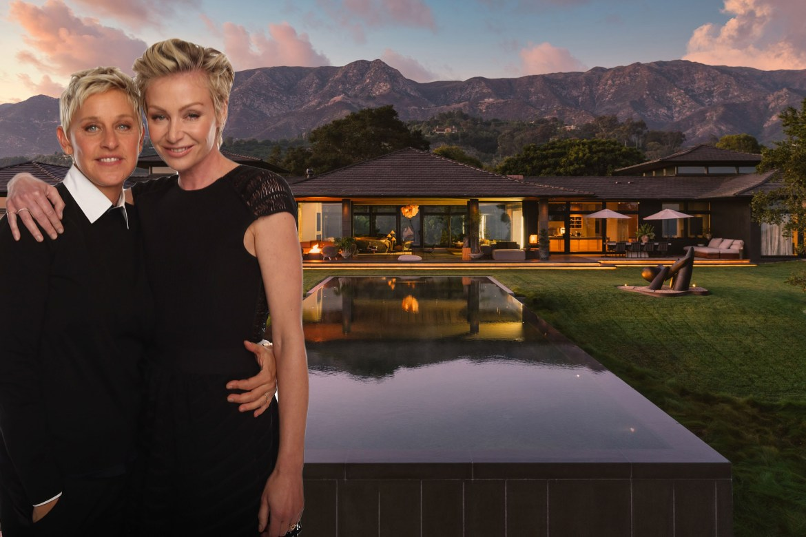 Ellen and Portia unload mansion for $33.3M after burglary 1