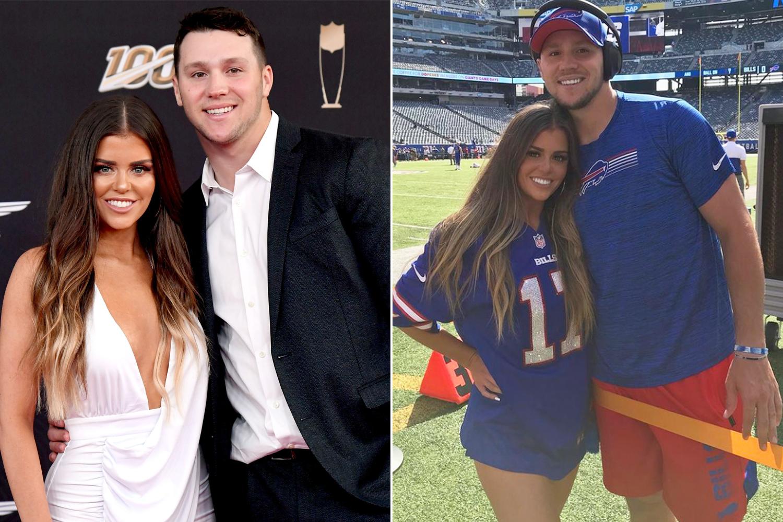 Who is Bills QB Josh Allen's girlfriend? Meet Brittany Williams