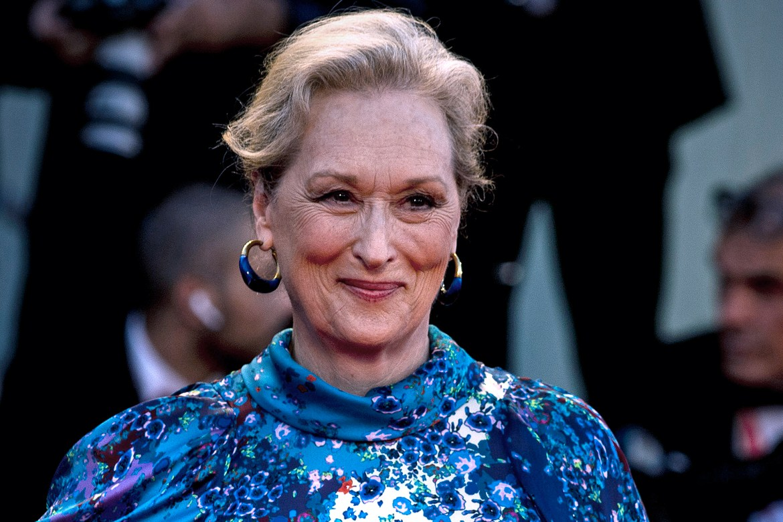 Meryl Streep suffered a wardrobe malfunction on prom night 1