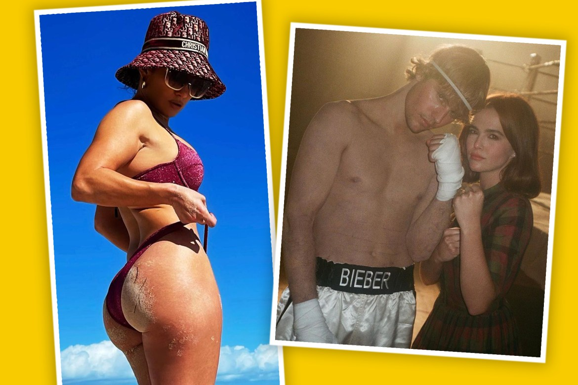 Best star snaps of the week: Ageless J.Lo and a tattoo-less Bieber 1