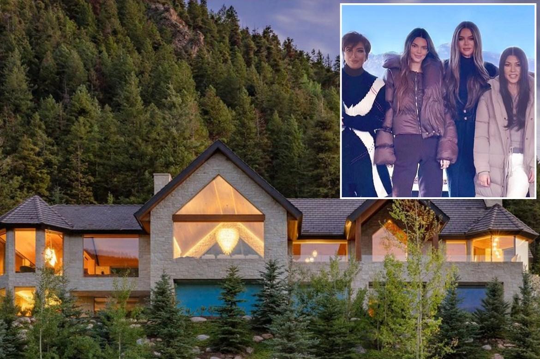 Inside Kendall and Kylie Jenner's $450K-per-month Aspen rental 1