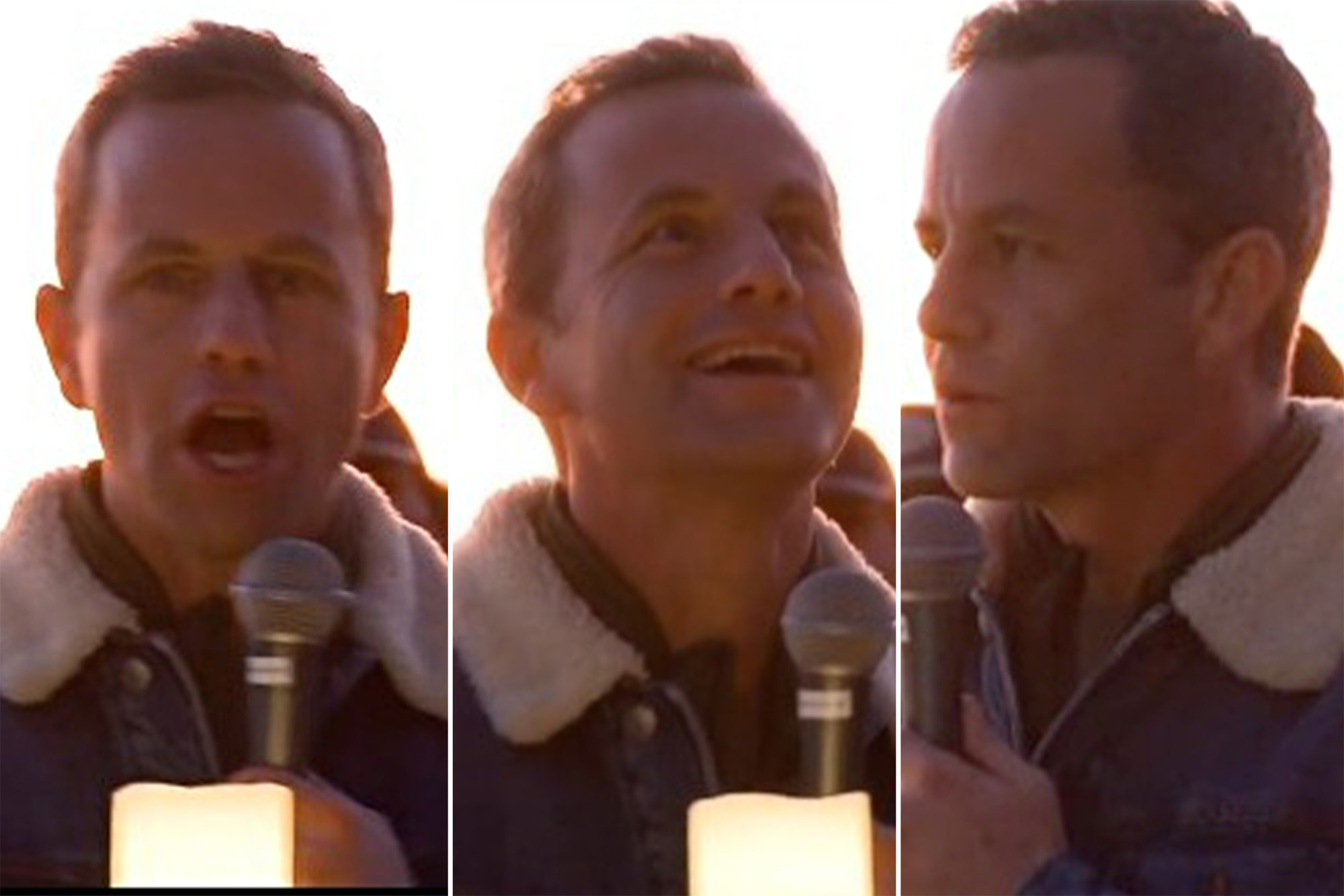 Kirk Cameron holds another maskless event to 'pray' for US