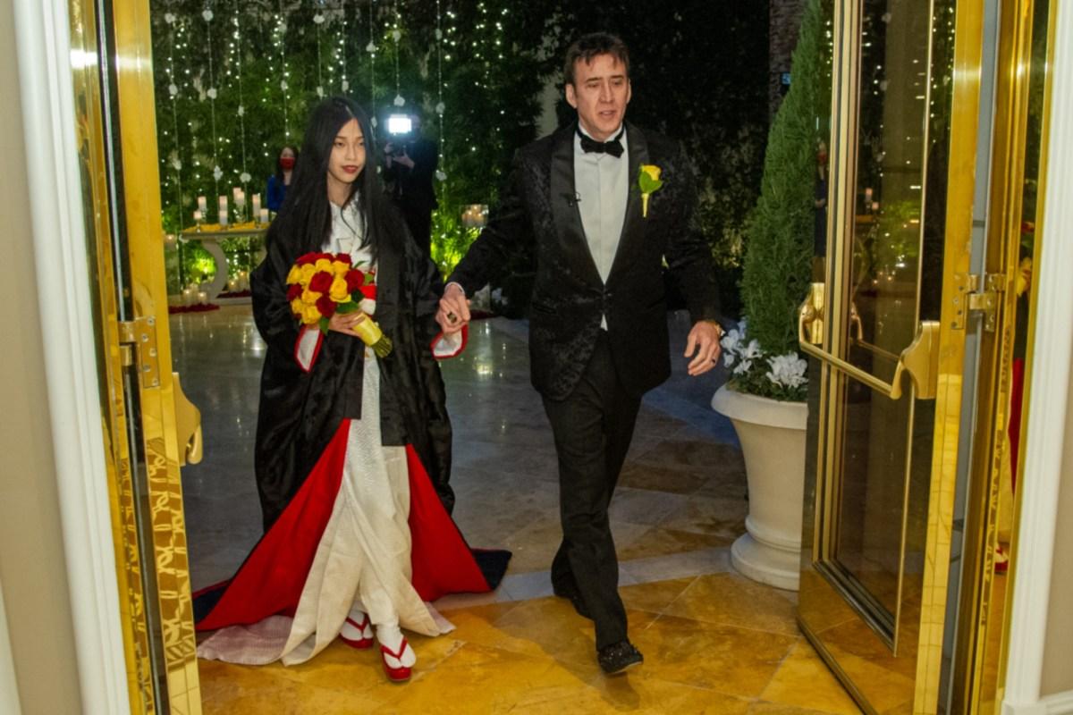 Nicolas Cage marries fifth wife, Riko Shibata