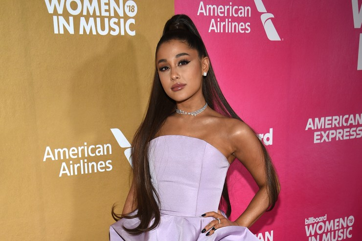 Knife-wielding man arrested outside Ariana Grande's Los Angeles home