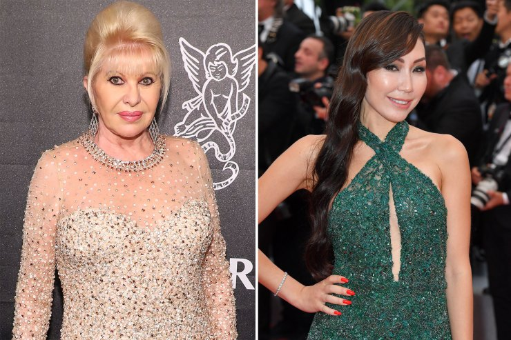 Ivana Trump asks to feel woman's breasts at NYFW show